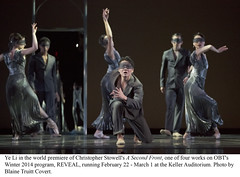 OBT REVEAL - Winter 2014 (Oregon Ballet Theatre) Tags: reveal obt yeli oregonballettheatre christopherstowell asecondfront