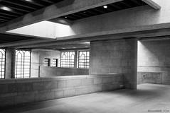 Entrance Hall (KLAVIeNERI) Tags: light architecture munich photography european structure pinakothek artandsculpture bwconverted leicaforum leicax1 leicaimages ilovemyleica lightroom5