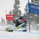 Ella RENZONI of BC takes 2nd Place in the U14 Girls GS Race held on Whistler Mountain on April 5th, 2014. Photo by James Cattanach - coastphoto.com