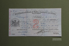 Chartered Bank of India, Australia and China Bill of Exchange (Canadian Pacific) Tags: old money vintage paper check antique colonial bank ephemera british banking cheque standardchartered charteredbank bankology billofexchange indiaaustraliaandchina indiaaustraliachina aimg2731