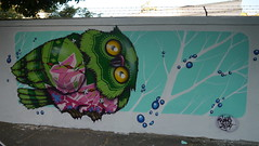 Binho (Av. Ibirapuera, São Paulo, Brasil, Abril 2014) (FRED (GRAFFITI @ BRAZIL)) Tags: brazil streetart brasil graffiti arte sãopaulo sampa sp ibirapuera urbano moema brésil grafite artederua binho grafiteiro