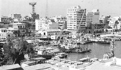 04_Port Said - Harbour Scene 1993 (usbpanasonic) Tags: canal redsea egypt portsaid mediterraneansea egypte  suez egyptians ismailia egyptiens harbourscene