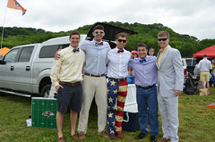 2014 Iroquois Faces From the Centerfield Tailgating Area