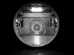 The vault (Lifeinpicture) Tags: bw contrast pov circles perspective streetphotography d750 vault