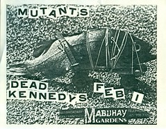 MUTANTS & DEAD KENNEDYS AT THE MABUHAY GARDENS, SAN FRANCISCO, CA 1980 (Superbawestside1980) Tags: gardens dead san francisco punk kennedys jello biafra mutants the mabuhay