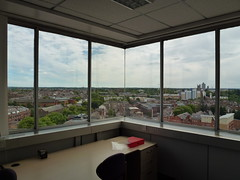 Leicester City Council New Walk Centre Welford Place LE1 6ZG 190 (KiranParmar) Tags: building window look last view desk furniture council inside demolished 2014 leicestercitycouncil newwalkcentre welfordplace le16zg
