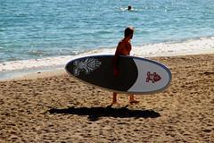 Bella vista (meghimeg) Tags: sea man beach sand surf mare wave uomo spiaggia sabbia onda 2015 pietraligure