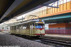 Dwag GT8 #705 (ukasz Janowicz) Tags: tram pozna posen 705 tramwaj  gt8 dwag linie8 strasenbahn lijn8 grczyn mpkpozna linia8