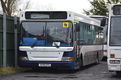 Mikro Coaches Y179CFS (Will Swain) Tags: mikro coaches depot crewe 25th january 2015 bus buses coach england uk britain north west cheshire yard garage transport travel lothian y179cfs impera 179 moreton wirral 2179