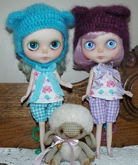 some more sewing and crochet