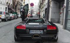 Lamborghini Murcielago LP640. (JayRao) Tags: paris france nikon december lamborghini supercar murcielago 2014 jayr d610 lp640