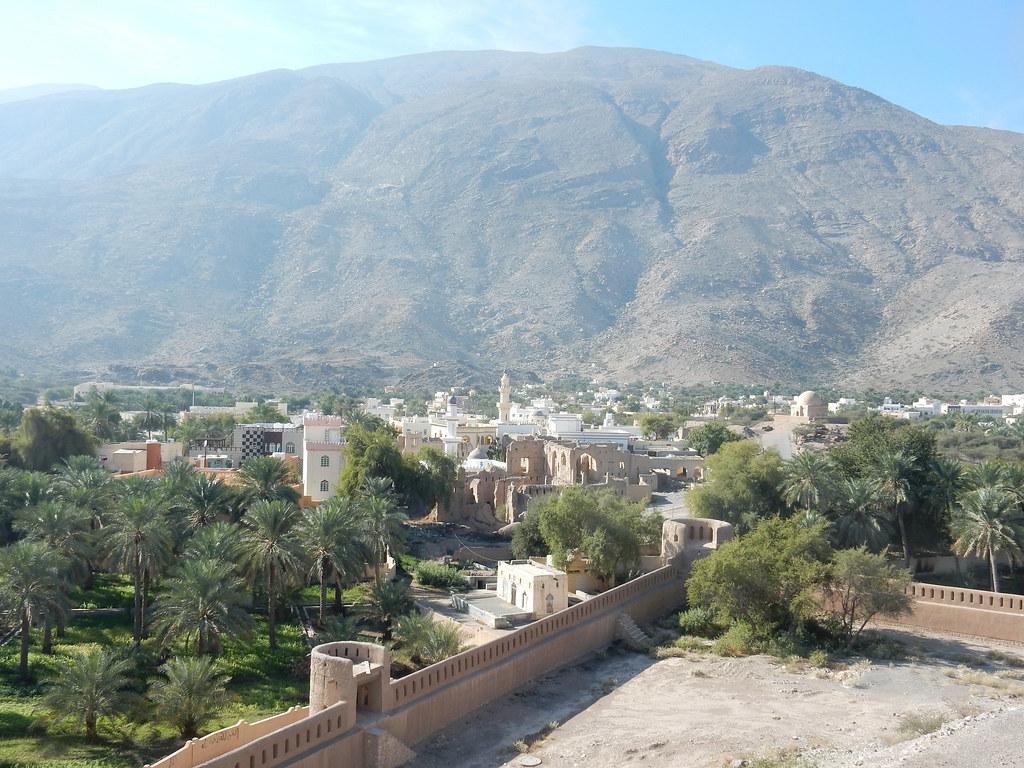 View of the walls at Rustaq