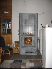 Puumerkki Cottage Fire Place