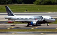 Spirit - N514NK - A319-132 (Charlie Carroll) Tags: tampa florida tampainternationalairport ktpa