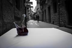 Street of wine (carlosromonbanogon) Tags: street people white black colour wine laguardia fujifilm alava amateur rioja xt1