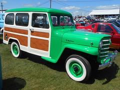 1952 Willys Wagon (splattergraphics) Tags: wagon jeep 4x4 carlisle carshow willys stationwagon carlislepa 1952 springcarlisle