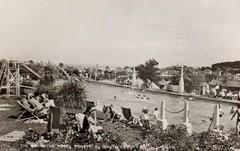 Pontins South Devon Holiday Camp, Paignton (trainsandstuff) Tags: swimming vintage postcard paignton pontins holidaycamp southdevon