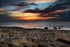Sunset at La Perouse, Sydney, Australia (rahulbhavsar45) Tags: ocean sunset seascape beach sydney rocky australia laperouse