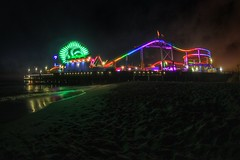 Santa Monica Pier, Los Angeles, California (JOSE LUIS VELO) Tags: california usa beach losangeles colours santamonica santamonicapier santamonicabeach unitesstates