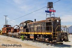 Erie Lackawanna 315 | Alco S1 | Galena, Kansas (M.J. Scanlon) Tags: railroad out lost rust track place engine rusty rail railway caboose transportation kansas locomotive rusting erie lackawanna