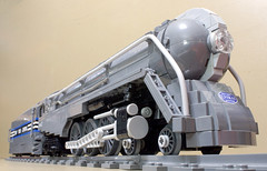 Dreyfuss_Hudson_02 (SavaTheAggie) Tags: lego steam engine locomotive hudson 464 henry dreyfuss new york central system nyc railroad train trains streamlined streamliner j3a