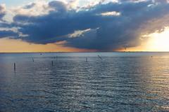 Copenhagen Sunset Storm (brandsvig) Tags: sunset sea summer storm june copenhagen denmark skne midsummer sweden zealand malm midsommar 2012 sommar kobenhavn resund vstrahamnen sjlland midsumer lumixtz20