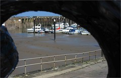 Watchet Harbour (Anthony J Woods) Tags: reflections boats harbour quay esplanade yachts harbourside quayside watchetsomerset