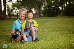 Linda with her grandson (KarinaSchuh) Tags: newmexico studio lights business portraiture alamogordo individuals strobes elinchrom oterocounty studiolights outdoorportraiture