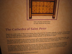 The Cathedra of St. Peter. (goldiesguy) Tags: vatican statue museum painting artwork statues ronaldreaganlibrary vaticansplendors goldiesguy