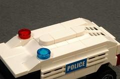 WK110-ROOF (Lancaster_Vanderbilt) Tags: lego legoracers racers 4wide moc policecar original tinyturbo car 8211