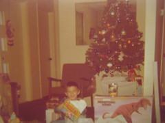 Christmas 1975 (giveawayboy) Tags: christmas street original rescue vintage sesame christmastree goblin 1975 roach 1972 ironon trex tonka fisherprice trustme ironontransfer plasticchip emtrescue plasticchipsanta trustmeman