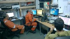 survey room (GEOCOSTE) Tags: gas survey rov caspiansea saipem geophysical shahdeniz geocoste