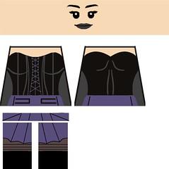 Sister Grimm decal (superherofigs) Tags: lego sister decal superheroes custom marvel nico minoru runaways grimm