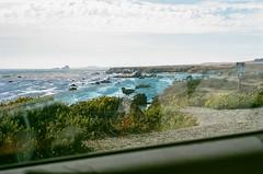 45530010 (danimyths) Tags: ocean california film beach water coast waterfront pacific roadtrip pch pacificocean westcoast pacificcoastalhighway filmphotography