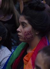 """ Girl Power "" (SamNeves1993) Tags: brazil portrait woman brasil avenida women retrato mulher rape sp brazilian feminism mulheres paulista feminismo manifestao feminista temer patriarcado estupro"