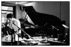 Steve Beresford/Rie Nakajima @ Cafe Oto, London, 19th June 2016 (fabiolug) Tags: leica blackandwhite bw music london monochrome zeiss 50mm blackwhite concert live duo gig livemusic performance piano objects rangefinder improvisation improv monochrom biancoenero dalston sonnar pianoforte leicam zeisssonnar 50mmf15 steveberesford sonnar50mm cafeoto zeisscsonnar zeisszm50mmf15csonnar mmonochrom leicammonochrom leicamonochrom zeisscsonnartf1550mmzm rienakajima unpredictableseries alterationsfestival