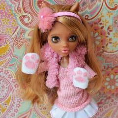 Clawdeen (Xeniya_) Tags: wolf doll ooak tan blond custom mattel repaint clawdeen monsterhigh clawdeenwolf ooakmonsterhigh ooakclawdeen