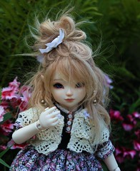 Victoria (abrowin) Tags: ball hair doll dolls victoria vic bjd problems jointed rowindoll