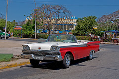 Varadero,Cuba (Igor Klyuev) Tags: travel nikon taxi cuba retro oldcar varadero d90