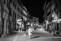 Streets of Pisa 4 (chriswalts) Tags: travel sunset italy streets tower night pisa leaning