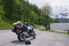 Groglockner [17] (Rynglieder) Tags: road snow alps austria alpine moto motorcycle suzuki gsx grossglockner grosglockner gsx1400