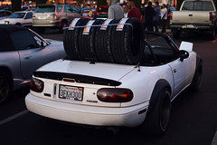 (jael_nava) Tags: sunset cars car 35mm nikon track na tires mazda miata nava mx5 meaty jael hankook driveclub