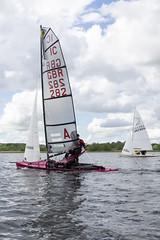 Sailing boat on Llangorse Lake 1 (Claire Young) Tags: water wales spring may sailingboat 2016 llangorselake