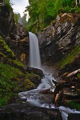 Cascade de Saubaudy | Saubaudy Waterfall (jragusa) Tags: hautesavoie france europe cascadedesaubaudy nd32 rhnealpes cascade expositionlongue
