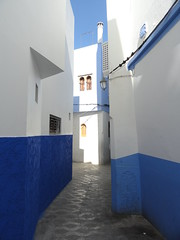 Blue and White (Jessica Splain) Tags: morocco asilah