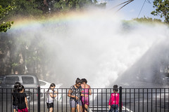 Rainbow (Rodosaw) Tags: chicago hydrant fire photography culture pilsen documentation subculture of