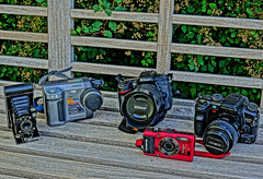 National Camera Day..... (smiles7) Tags: nationalcameraday cameras oldnew 3662016