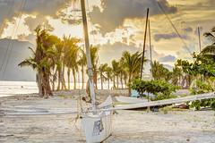 _D712778-HDR-exp (hcalubiran) Tags: ocean sunset beach boat philippines boardwalk subic sbma banca