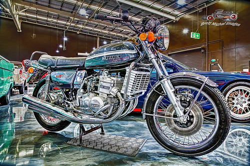 Suzuki GT750 Triple, Gosford Classic Car Museum, 3 Stockyard Place, West Gosford