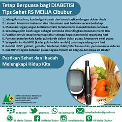 Sehat puasa diabetisi #dokter #puasa #ramadhan #ibadah #rsmeilia #cibubur #depok #cileungsi #bekasi #bogor #jakarta (yudhihertanto1) Tags: rsmeilia bogor cileungsi bekasi ramadhan jakarta dokter cibubur ibadah depok puasa